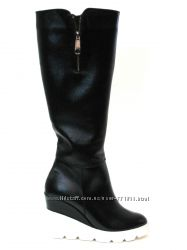 Сапоги, ботинки натуральная кожа Распродажа остатков последняя пара 37р
