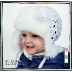 Детские шапочки PUPILL для девочек. Зима
