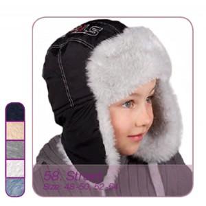 Детские шапочки PUPILL для мальчиков. Зима