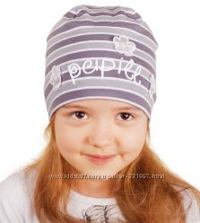Детские шапочки Pupill осень-весна