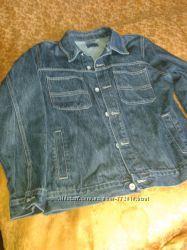 Мужская джинсовая куртка.