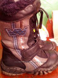 Продам ботинки зимние для девочки