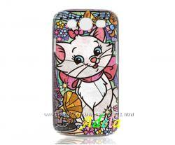 Красочный чехол Анжелика на Samsung S3 i9300. В наличии