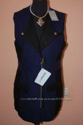 Новое кашемировое пальто жилет ZALANDO