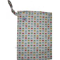 Многоразовые непромокаемые сумочки для мокрого белья, подгузников, постиран