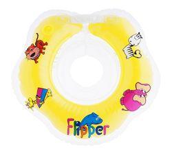 Круг для купания новорожденных двухкамерный Flipper от 0 до 18 кг Roxy-kids