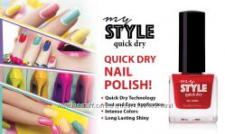 Быстросохнущий лак для ногтей My style Quick Dry
