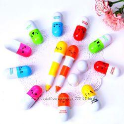 Милые ручки в виде капсул Витаминки