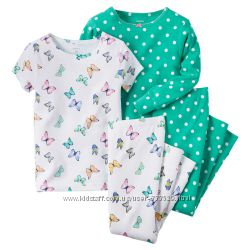 Пижама для девочки Carters Бабочки
