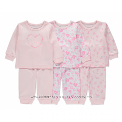 Пижамы для девочек George Цветы