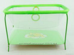 Манеж с мелкой сеткой Винни Пух зеленый