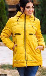 Зимние и деми куртки от 48 размеров