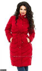 Зимние куртки и пальто от 48 размеров