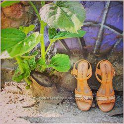 Женские кожаные босоножки цвета нюд, Prativerdi, Италия, скидка