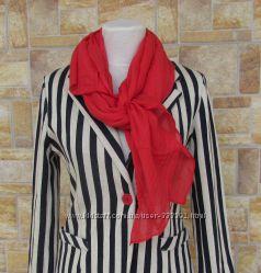 Яркие шарфики, 70 коттон 30 шелк, Италия