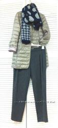 Удлиненный приталенный женский пуховик, Италия, СКИДКА