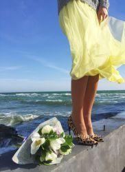 Романтичная юбка-миди, Италия, Скидка