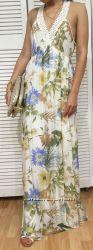 Женское шелковое платье-макси, Paolo Casalini, Италия, скидка