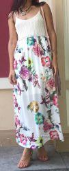 Эффектное женское платье-сарафан, Paolo Casalini, Италия, скидка