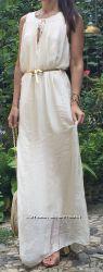 Восхитительное шелковое платье макси, Paolo Casalini, Италия, скидка