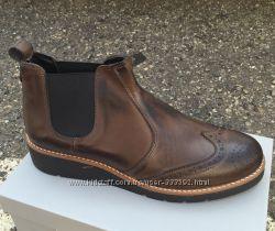 Женские кожаные ботинки - челси, легкие и удобные, Италия