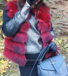 Женский джемпер с металлизированным напылением, Италия, скидка