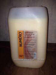 Канистра 10 литров , шампунь Brelil Numero с овсом