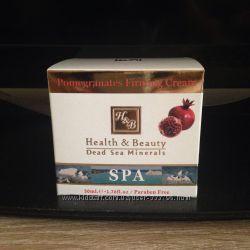 Израильские крема  для лица health and beauty