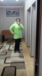 Яркая  курточка  большой  размер
