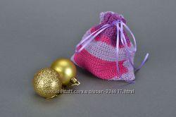 Новогодний мешочек для подарков ручной работы