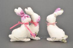 Набор мягких пасхальных кроликов ручной работы