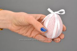 Вязаные яйца ручной работы