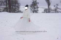Полушуба свадебная