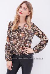 Блуза шифоновая Forever21, размер М