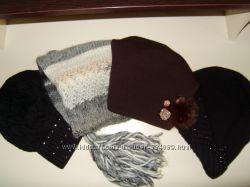 Красивые фирменные шапочки