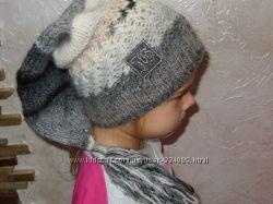 Стильная брендовая шапочка