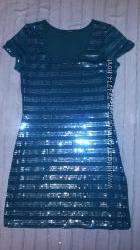 Нарядное платье зеленого цвета размер s-xs
