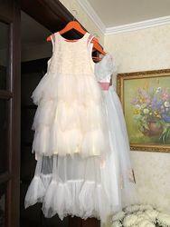 Удобное нарядное платье