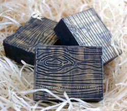 Угольное мыло-детокс с нуля Чайное дерево