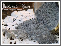 Детокс-маска с углём и чёрной глиной Багира 50г
