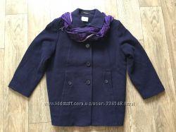 Пальто бойфренд , кокон , натуральная шерсть и кашемир