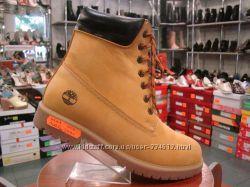 Зимние ботинки TIMBERLAND , желтые и синие