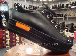 Стильные туфли - криперы на шнурках