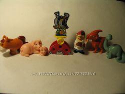 Продам игрушки киндер сборка