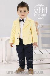 Костюм на мальчика со стёганным пиджаком ТМ Krasnal - 86 см