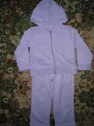 Котоновый костюм на девочку Ladybird р. 98-104