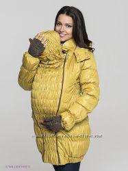 Куртка 3в1 зима Селена янтарь обычная беременность слингоношение Ехидна