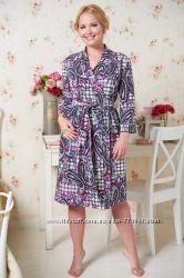 Халаты для беременных и в роддом разные модели цены бренды