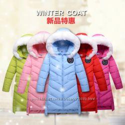 Куртка-пуховик 5цветов 140 150 160