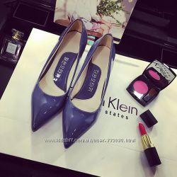 Красивейшие лаковие туфли р37